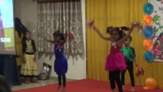 Little Millenium Pre School, Attapur kids - Lets Star Jump !