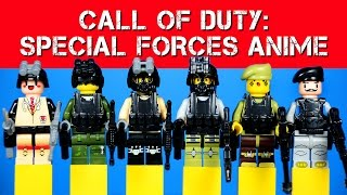 Call of Duty: Kawaii S.W.A.T. / Special Forces LEGO KnockOff Minifigures Set 5