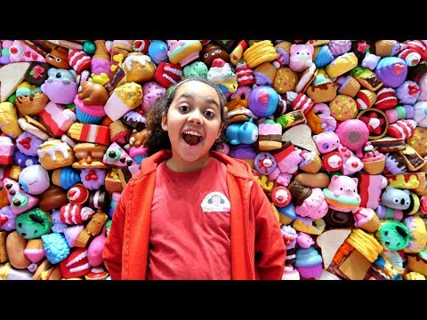 Xxx Mp4 Giant Squishy Toys Wall Collection Family Fun Games NYC Toy Fair 3gp Sex