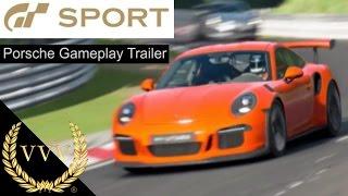 GT Sport - Porsche Gameplay Trailer