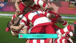 PS4 PES 2018 Club Africain vs Club Sportif Sfaxien [HD]