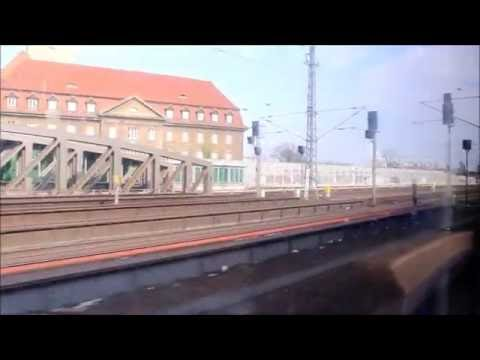 Mitfahrt im VT 646-021 der DB Regio Nordost auf der Linie RE6