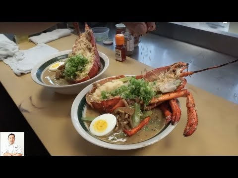EXTREMELY GRAPHIC 5 Star Lobster Ramen Dish