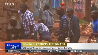 Kenya elections: UN officials call on all sides to exercise restraint
