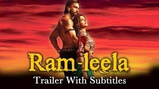 Goliyon Ki Raasleela (Theatrical Trailer with English Subtitles) | Ranveer Singh & Deepika Padukone