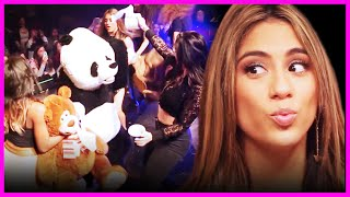 Fifth Harmony Cakes Jacob Whitesides in the Face - Fifth Harmony Takeover!