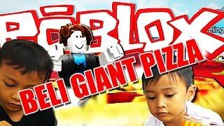 ROBLOX theme park funny player BELI GIANT LAGI
