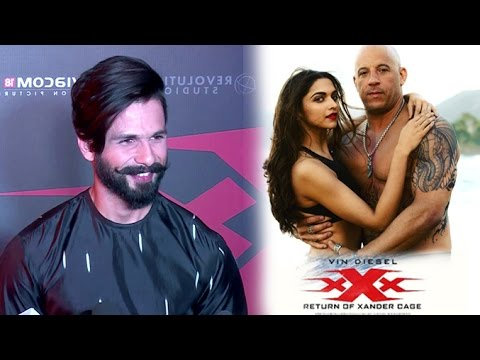 Shahid Kapoor's Review Of Deepika's xXx: Return of Xander Cage Movie With Vin Diesel
