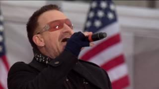 U2 - Pride + City Of Blinding Lights Live Obama Concert Washington [HD - High Quality]