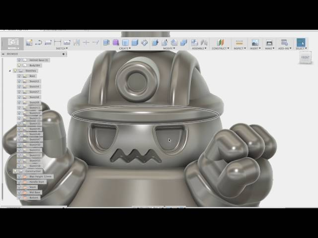 Let's Make a Toy : Tumble Tops Part 1 / 3D Modeling in Fusion 360