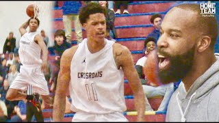 The SHAREEF SHOW! Shareef O'Neal Windmill Dunk In State Playoff Game