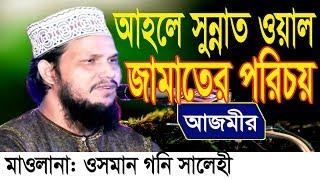 আহলে সুন্নাত ওয়াল জামাতের পরিচয় | Mawlana Osman Goni Salehi | Bangla waz 2018