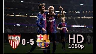 Sevilla vs FC Barcelona ● 0-5 ●  Copa Del Rey final 2018 Highlights● HD ● 1080p●