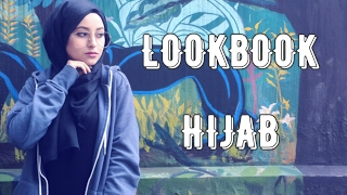 LOOKBOOK HIJAB | 5 OUTFITS | ELGHACHI OUMM