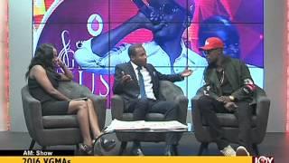 2016 VGMA - AM Show on Joy News (9-5-16)