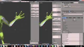 Dynamic muscle deformation tutorial - Blender