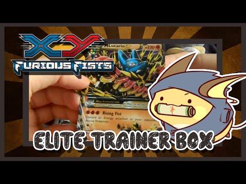 Saffie unboxes a Furious Fists Elite Trainer Box! (NICE PULLS!)