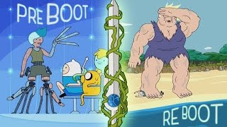 Adventure Time Review & Lore Analysis: S7E38+39 - Preboot & Reboot