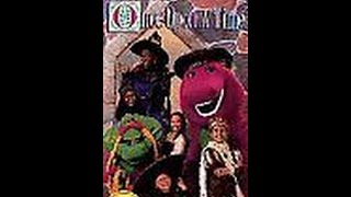 Opening & Closing To Barney's Once Upon A Time 1996 VHS