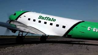 Buffalo Airways in Yellowknife - Northwest Territories, Canada
