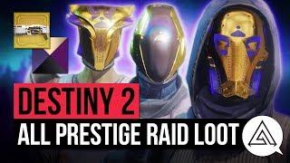 DESTINY 2 | All Leviathan Prestige Raid Loot - New Gear, Exotic Ornament & Emblems