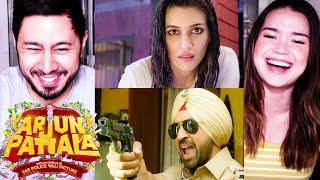 ARJUN PATIALA | Diljit Dosanjh | Kriti Sanon | Varun Sharma | Trailer Reaction by Jaby & Achara!