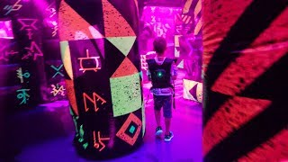 Laser Tag: Battle for Planet Z onboard Symphony of the Seas Cruise Ship
