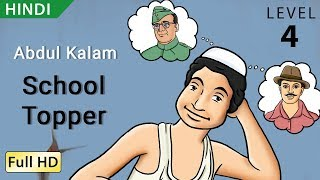 Abdul Kalam, School Topper: Learn Hindi - Story for Children