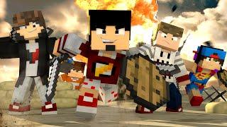 Minecraft: HARDCORE DIA 1 - A GUERRA ‹ AMENIC ›