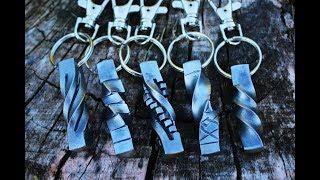 Making steel key chains / fobs!