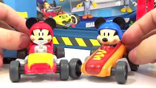 DISNEY MICKEY AND THE ROADSTER RACERS Play Set, Mustard Run, Speed N
