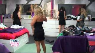 Secret Story - Miss Secret Story (backstage)