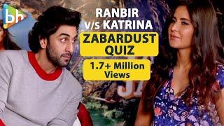 I Am A Katrina Kaif Encyclopedia | Ranbir Kapoor | Quiz | Jagga Jasoos