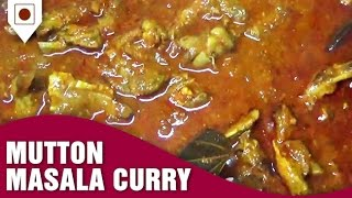 How To Make Mutton Masala Curry | Easy Cook with Food Junction