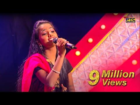 Ritu singing Tu Te Meri Akhiyan Di Neend Churai Noor Jahan Ji Voice Of Punjab Season 7