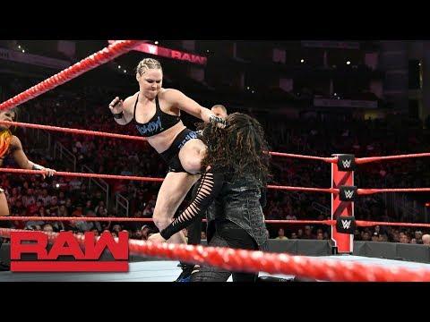 Xxx Mp4 Ronda Rousey Ember Moon Vs Nia Jax Tamina Raw Dec 3 2018 3gp Sex