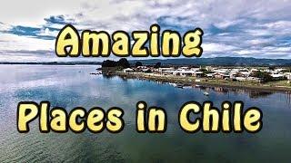 Amazing Places In Chile - Vista Aérea Desembocadura Del Río Toltén Caleta La Barra Y Drone Phantom 4