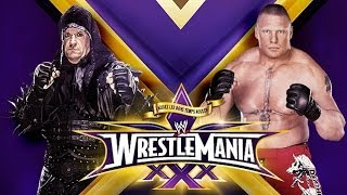 The Undertaker vs Brock Lesnar Wrestlemania 30 Promo HD