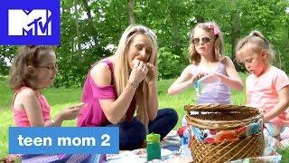 'Leah's Little Picnic w/ the Twins' Official Sneak Peek   Teen Mom 2 (Season 8)   MTV
