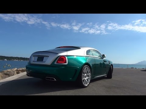 MANSORY Rolls-Royce Wraith in Cannes - Photo Shoot & 3x Start