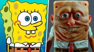 Spongebob in Real Life! Main Characters