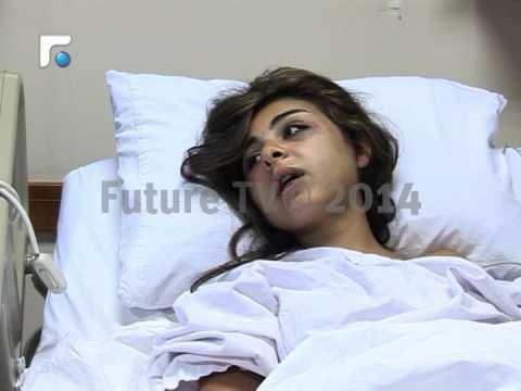 تعرض تمارة حريصي للضرب المبرح من قبل زوجها