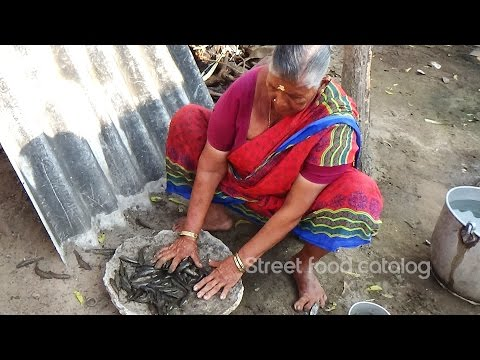 My Grandma's Village Style Small Fish Curry || How To Cook Fish Curry || Street Food Catalog