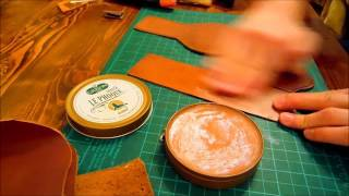 bushcraft leather belt pouch (how to make it)