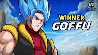 GOKU x LUFFY vs SUPERMAN x THOR [ DBS / Superheroes Parody ]