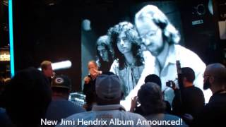 "New Jimi Hendrix Album Announcement! Eddie Kramer Discusses ""People, Hell & Angels"" @ 2013 NAMM"