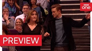 Justin Timberlake tries out a new dance move: The Graham Norton Show 2016 - BBC One