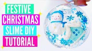 5 DIY Christmas Slime Tutorials// Easy How To Make Festive Christmas Holiday Slime Gifts 2018