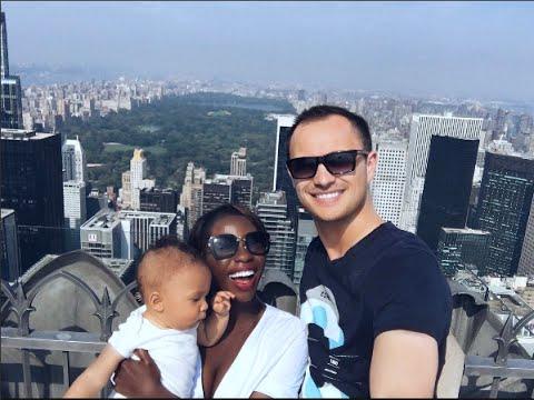 BABY'S FIRST TIME IN NEW YORK - NEW YORK TRAVEL VLOG | AdannaDavid