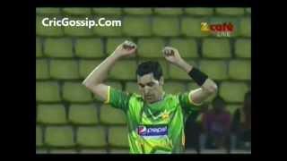 Umar Gul Vs Sohail Tanvir Both Leaves Catches on each others balls v Sri Lanka